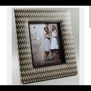 "Frame-Holds 8"" X 10"" Chocolate Newspaper by LENOX"